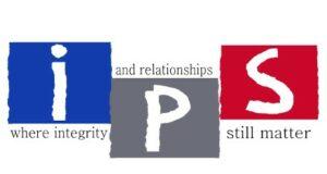 ips logo sticker labels